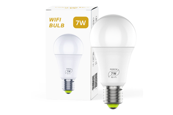 WJS LED Bulb Color Changing Light Bulb with Remote Control Flash or Strobe Mode Premium Quality Energy Saving LED Lamp