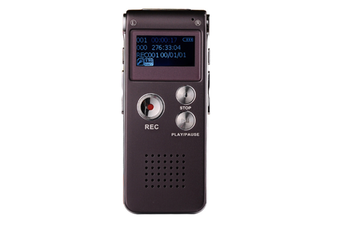 WJS 16GB Digital Voice Recorder Voice Activated Recorder with Playback Mini Audio Recorder Portable Tape Dictaphone with USB-Red