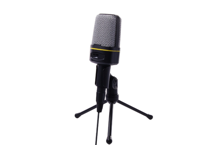 WJS Condenser Microphone Karaoke Computer Recording Family K Song Dedicated Chat Microphone