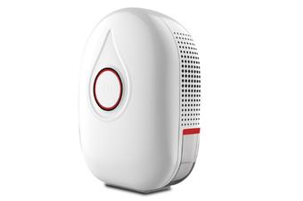 WJS Mini Dehumidifier Household Small Dehumidifier Bedroom Silent Noiseless Dehumidifier-Red