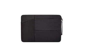 WJS 11 Inch 12 Inch Portable Laptop Bag Briefcase Liner Bag Suitable for Apple Macbook Huawei Xiaomi Notebook-Black
