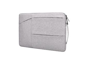 WJS 11 Inch 12 Inch Portable Laptop Bag Briefcase Liner Bag Suitable for Apple Macbook Huawei Xiaomi Notebook-Grey