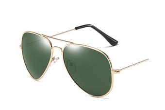 Premium Full Mirrored Men'S Polarized Aviator Sunglasses