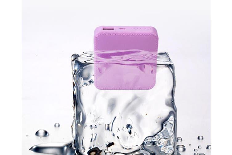 Mini Charging Treasure Portable Mobile Power - Pink Pink No Rope 15000Mah