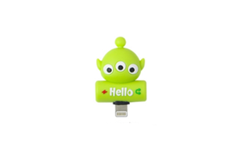 Cartoon Audio Charging 2-In-1 Adapter For Iphone - 10