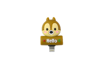 Cartoon Audio Charging 2-In-1 Adapter For Iphone - 11