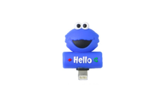 Cartoon Audio Charging 2-In-1 Adapter For Iphone - 12