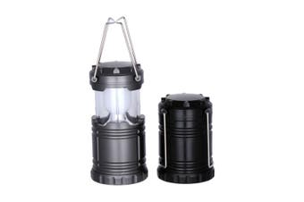 Outdoor Super Bright Camp Tent Lights Automatically Pull Camping Lights - Black Black Bulb