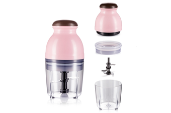 Home Cooking Machine Multi-Function Electric Baby Baby Mixing Food Machine - Pink Pink Glass