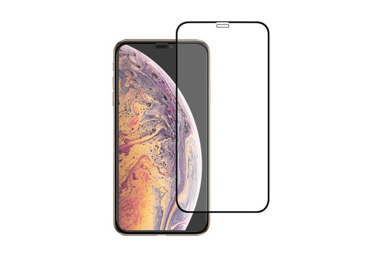 Tempered Glass Film Mobile Phone Protective Film For Iphone Xr Black