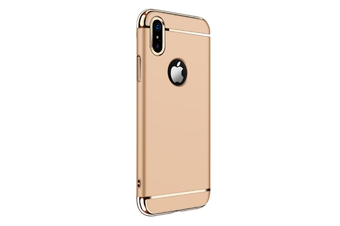 3 In One Splicing Plating Case For Iphone Gold Iphone X