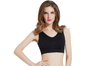 12 Colors Women Workout And Gym Seamless Yoga Sports Bra Black Xl