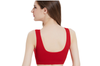 12 Colors Women Workout And Gym Seamless Yoga Sports Bra Red S