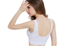 12 Colors Women Workout And Gym Seamless Yoga Sports Bra White S