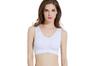 12 Colors Women Workout And Gym Seamless Yoga Sports Bra White Xxl