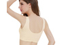 12 Colors Women Workout And Gym Seamless Yoga Sports Bra Yellow Xxl