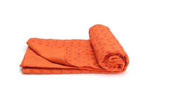 Microfiber Non Slip Yoga Mat Yoga Towel Orange