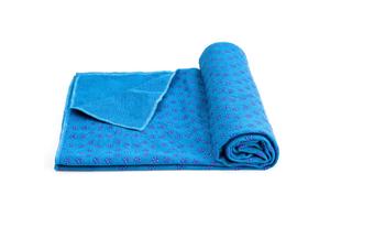 Microfiber Non Slip Yoga Mat Yoga Towel Pink