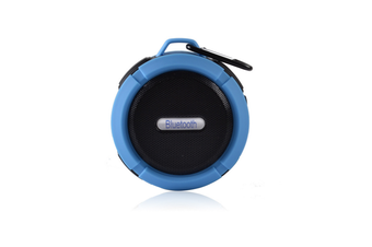 Wireless Waterproof Speaker With 5W Driver, Suction Cup, Buit-In Mic, Hands-Free Speakerphone
