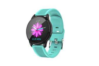 WJS Wallpaper Change Color Display Wristband Heart Rate Blood Pressure Female Period Monitor Smart Watch-E