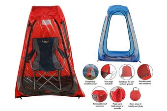 Spectator Pop-up Tent | Single | 2 Assorted Colours