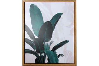 Canvas Print In Frame Palm Leaf Tree