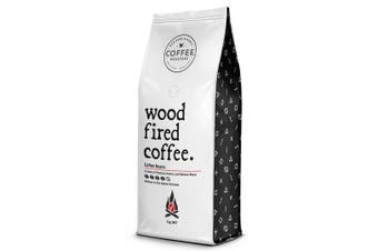 Wood Fired Coffee Beans - 1kg Bag