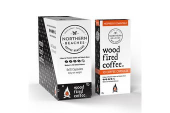 Wood Fired Coffee Capsules (Nespresso Capatible) - 60 Capsule Carton