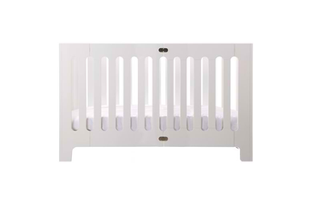 Bloom Alma Max (excluding mattress)  -  Coconut White