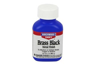 Birchwood Casey Brass Black Touch-Up Metal Finsh 3Oz #bw15225
