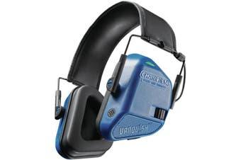 Champion Ear Muffs 22Db Electronic Vanquish Blue #ch40979