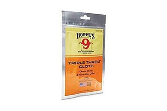 "Hoppe's 9 11X14"" Triple Threat Cotton Cleaning Cloth #1130"