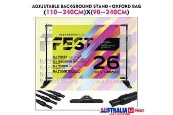 Trade Show Backdrop Stand Sign Banner Displalay Background Support Oxford Bag