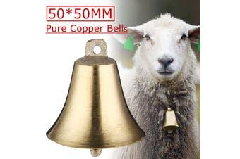 2pcs ottone campane di rame mucca cavallo cane da pecore animali al pascolo
