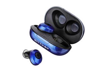 2x[Bluetooth V5.0] Blitzwolf BW-FYE5 Mini True Wireless Earbuds Stereo Earphone Portable Charging Box