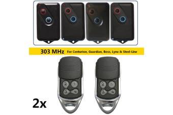 2xGarage Remote for Boss Guardia Steel Line 2211-L BHT4 B BOL6 BRD1 BRD9