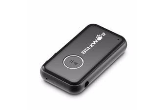 2xBlitzWolf Bluetooth Wireless Car Music Receiver 3.5mm AUX Audio Adapter Phone