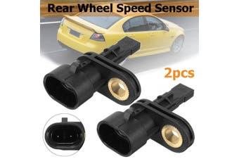 2pcs Rear Wheel ABS Speed Sensor for Holden Commodore VE 2006-2013 #92211237