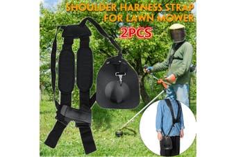 Brushcutter Double Shoulder Strap Harness Belt For Stihl Brush Cutter Trimmer AU