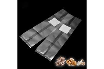 30Pcs 250x500x0.06mm PVC Mushroom Grow Bag Substrate High temp Pre Sealable