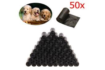 50PCS Roll 1000Pcs Pet Dog Poo Bag Cat Waste Poop Pick Up Biodegradable Garbage