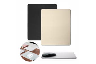 Aluminum alloy Pad Mousepad Speed Gaming Mat Mouse for Macbook Apple HP Dell PC Gold