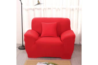 Single Seater Shape Stretch Elastic Fabric Sofa Cover Pet Dog Sectional /Corner Couch Cover