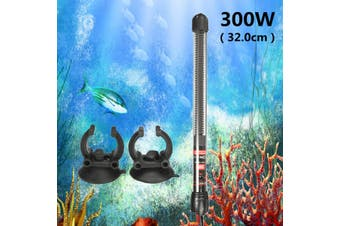 300W Submersible Heater Heating Rod For Aquarium Glass Fish Tank Pcmeal