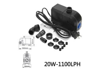 20W 25W Aquarium Water 1500L Pump Submersible Fish Tank Pond Fountain Energy