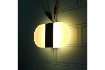 Modern LED Black Wall Light Up Down Cube Sconce Aisle Hallway Lighting Lamp Fixture Warm White Light