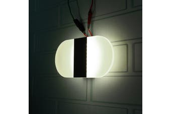 Modern LED Black Wall Light Up Down Cube Sconce Aisle Hallway Lighting Lamp Fixture Cool White Light