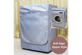 Waterproof Washing Machine Zippered Top Dust Cover Protection Durable Sunscreen # M