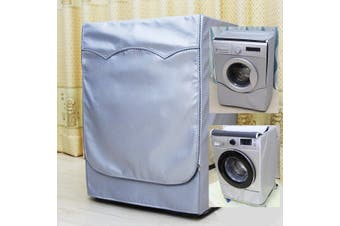 Waterproof Washing Machine Zippered Top Dust Cover Protection Durable Sunscreen # XL(XL)