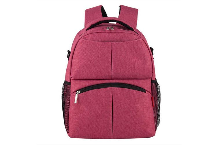 Gray beauty beauty cotton and linen series multi-functional women's backpack large capacity outing bag backpack